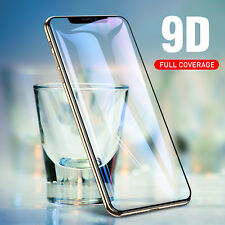 9D Tempered Glass Full Coverage Screen Protector Film for iPhone X XS Accessory