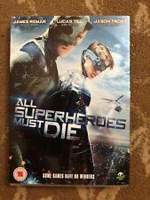 ALL SUPERHEROES MUST DIE DVD INCLUDES SLIPCASE