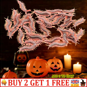 10Pcs Funny Toys Fake Cockroach Scorpion & Centipede Halloween Decoration Joke-S