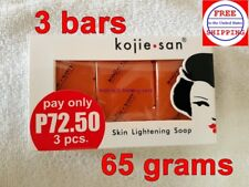 Kojie San 3-Pack Skin Lightening Kojic Acid Soap 65grams - on SALE!!!