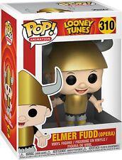 Funko Pop! Vinilo Animación Looney Toons Elmer Fudd Viking Ópera #310 Figura