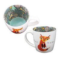Mug  Ceramic TeaCoffee  Inside Out Mug - FOR FOX SAKE