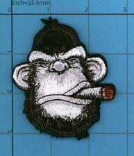 Ape Gorilla Smokin Cigar Monkey Patch Cuban Tactical Gear Army Vest