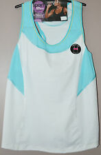M&S SPORTS BRA VEST - EXTRA HIGH IMPACT - NON WIRED - SIZE 38B WHITE MIX - NEW