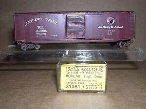 "KADEE #31061  Northern Pacific 50' Single Door  Box Car #31468  ""N"" Gauge"