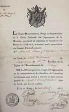NAPOLEON'S 100 Days Commission April 10,1815