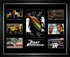 The Fast And The Furious 1 Limited Edition Framed Memorabilia