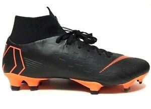 Nike Mens Mercurial Superfly VI Pro FG Soccer Cleats Black AH7368-081 Choose Sz