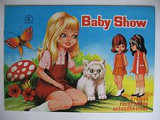 "Cox FIDASS album ""BABY show"", album vuoto Plus set di immagini"