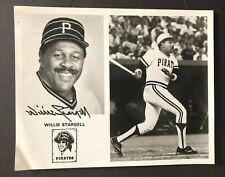 WILLIE STARGELL  PITTSBURGH PIRATES   Signed/Autographed 8x10 Photo