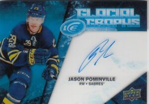 JASON POMINVILLE NO:GG-PO GLACIAL GRAPHS in UPPERR DECK ICE 2017-18