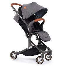 Babysing Baby Lightweight Umbrella Strollers Infants Kids High View Pram Grey