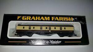 Graham Farish 374-029B Mk1 BG Full Brake Chocolate/Cream - N Gauge - Brand New
