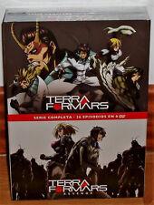 TERRAFORMARS+TERRAFORMARS REVENGE SERIE COMPLETA 6 DVD NUEVO (SIN ABRIR) R2
