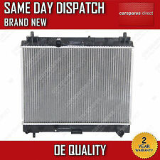 FIT FOR A TOYOTA YARIS MK2 1.4 D4D DIESEL MANUAL RADIATOR 2005>ONWARDS *NEW*