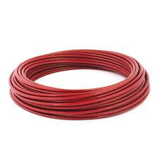 [2-10mm] CABLE D'ACIER GALVANISÉ [1-100m] PVC rouge cordage corde funin qualite