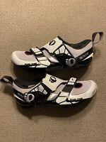 Mens Triathlon Cycling Shoes Pearl Izumi Tri Fly IV Size EU 45 US 11