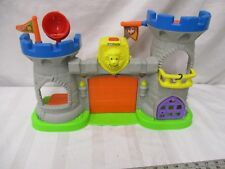 Fisher Price little people Mighty Kings Castle building only sounds works cute
