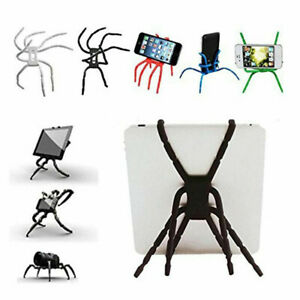 Deformable Spider Desktop Stand Mount Holder Mobile Phone Flexible Bracket Home