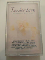 Tender Love - 17 Romantic Love Songs - Album Cassette Tape, Used Very Good