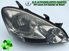Toyota Avensis Verso From 01-04 Head Light Driver Side ( Breaking For Parts)