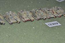 15 mm ww2 carri armati tedeschi/stugs 6 veicoli (12203)