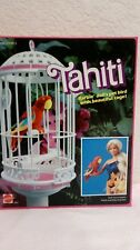Barbie Tahati Pet Bird W/ Cagemattel 2064 Mib Nrfb. Vintage 1985 4Unow2Day
