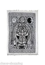 Tagesdecke Wandbehang Wandtuch Überwurf Pentagram
