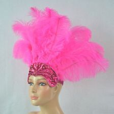 Carnival - Dance Headdress Ostrich  Feathers