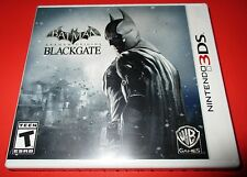 Batman Arkham Origins Blackgate Nintendo 3DS - Factory Sealed! Free Shipping!