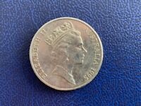 1995  AUSTRALIAN 20 CENT -UNITED NATION -CIRCULATED