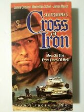 Cross of Iron VHS 1998 Hen's Tooth Video Rare Anti-War James Coburn James Mason