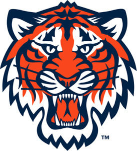 Detroit Tigers 4 Inch MLB Color Die-Cut Decal / Sticker *Free Shipping