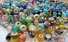 Czech glass animal Scorpio coin beads random colors 14 mm pack of 10
