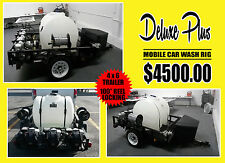 """THE NEW """"DELUXE PLUS"""" MOBILE CAR WASH RIG"""