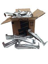6 inch Quick Screw hidden gutter hangers with clip (25-Pack)