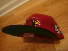 VTG Phoenix Cardinals Starter hat cap 7 1/8 retro 90s 80s Arizona side patch x2