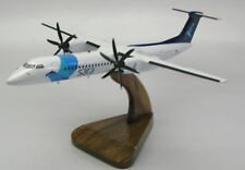 Dash-8 Q400 Sata Air Airplane Wood Model Replica Large Free Shipping