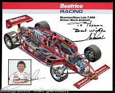 Mario Andretti TOP Gross AK Orig. Sign. Motorsport +G 9007