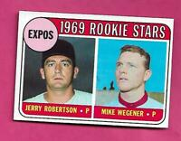 1969 TOPPS # 284 EXPOS ROOKIE STARS  NRMT-MT  CARD (INV# C5218)