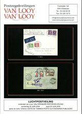 VAN LOOY (Belgium) Aerophilately auction- incl ZEPPELIN - softbound -1925 lots