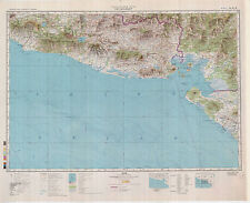Russian Soviet Military Topographic Maps  - SAN SALVADOR (El Salvador), ed. 1985