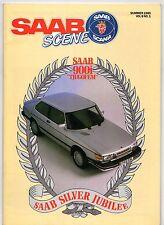 Saab Scene Spring Summer 1985 Vol 8 No 1 UK Market Brochure 90 EV-1 Viggen