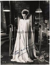 """Elsa Lanchester (Bride Of Frankenstein ) 8""""x10"""" Autograph B&W Photograph - RP"""