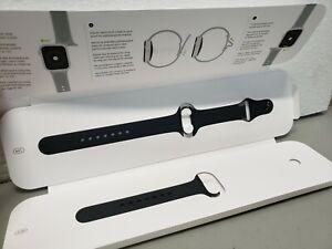 Authentic Apple Watch S/M M/L Bracelet Sport Band 40mm Black Sport Demo