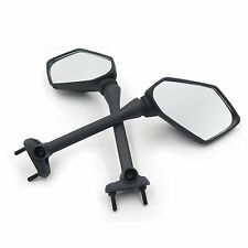 Black Rear Style Mirrors For Kawasaki Ninja 650R 400R Z1000Sx Er6F Er-6F