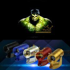 New Hot 3D Hulk Logo Motorcycle Ghost Shadow Spotlight Laser Projector LED Light