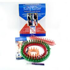 Knifty Knitter Loom Series Set make Scarves Hats Booties Etc perfect for Kids