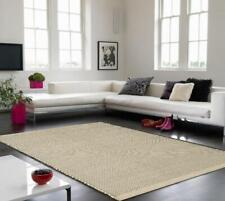 Light Grey Enzo Wool Area Rug Living Room Bedroom Foyer Soft Indoor Fluffy Mats