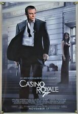 CASINO ROYALE DS ROLLED ORIG 1SH MOVIE POSTER DANIEL CRAIG JAMES BOND 007 (2006)